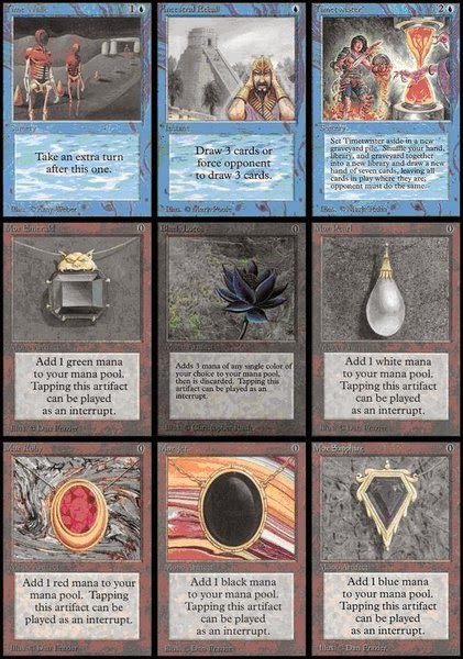 Image result for the power 9 vintage masters